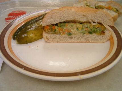 manny veggie burger